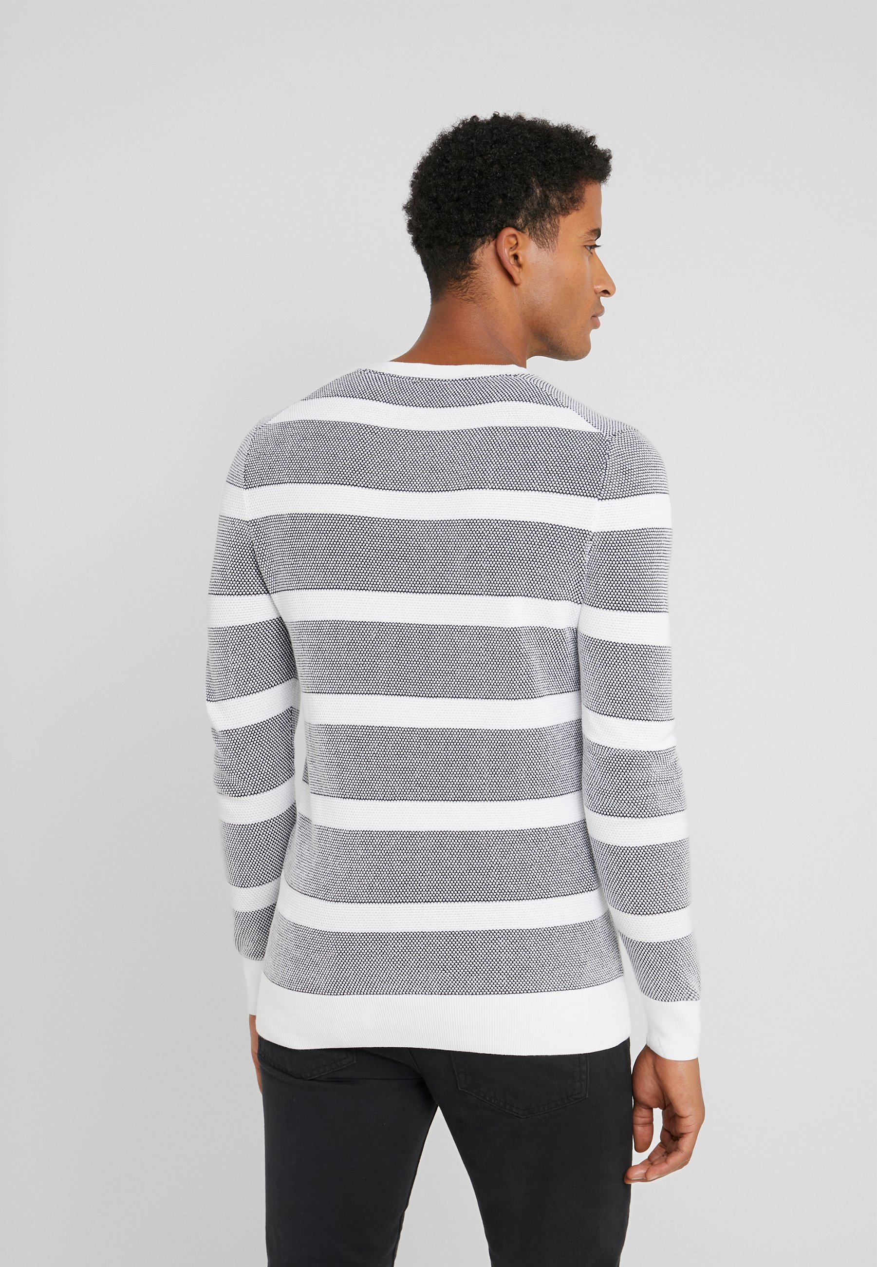 JOOP! VALENTIN - Pullover - navy/white