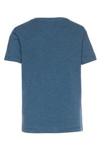 Tommy Hilfiger - ESSENTIAL LOGO - T-shirt z nadrukiem - blue - 1
