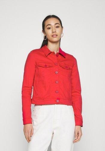 HOTSOYA - Denim jacket - goji berry