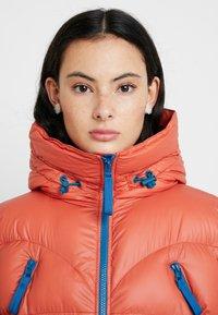 Hunter ORIGINAL - WOMENS ORIGINAL PUFFER COAT - Cappotto invernale - siren - 4