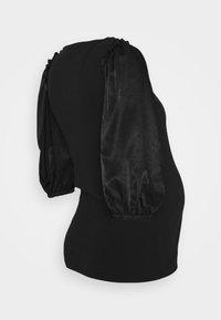 MAMALICIOUS - MLLEONIE - Print T-shirt - black - 1