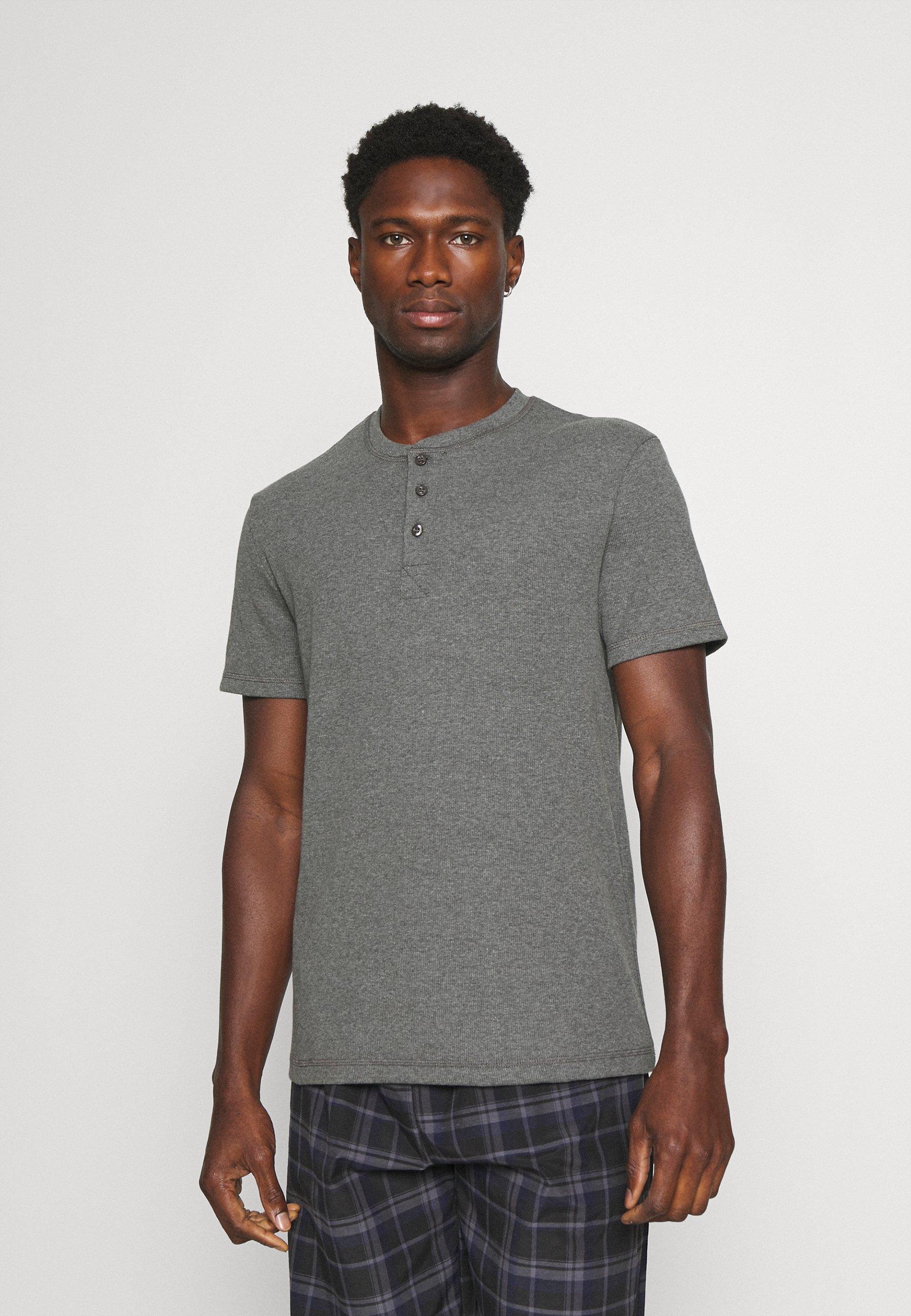 Men LOUNGE HENLEY TEE - Pyjama top