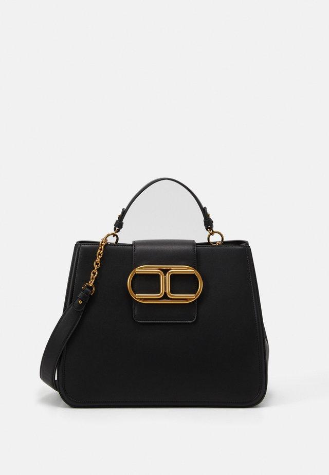 LOGO HARDWEAR SATCHEL - Handbag - nero