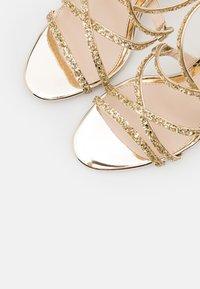 Buffalo - MERCY - High heeled sandals - light gold - 5