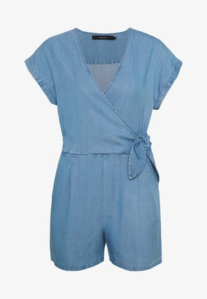 VMLAURA V-NECK - Combinaison - light blue denim
