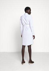 Polo Ralph Lauren - HEIDI LONG SLEEVE CASUAL DRESS - Hverdagskjoler - white - 2