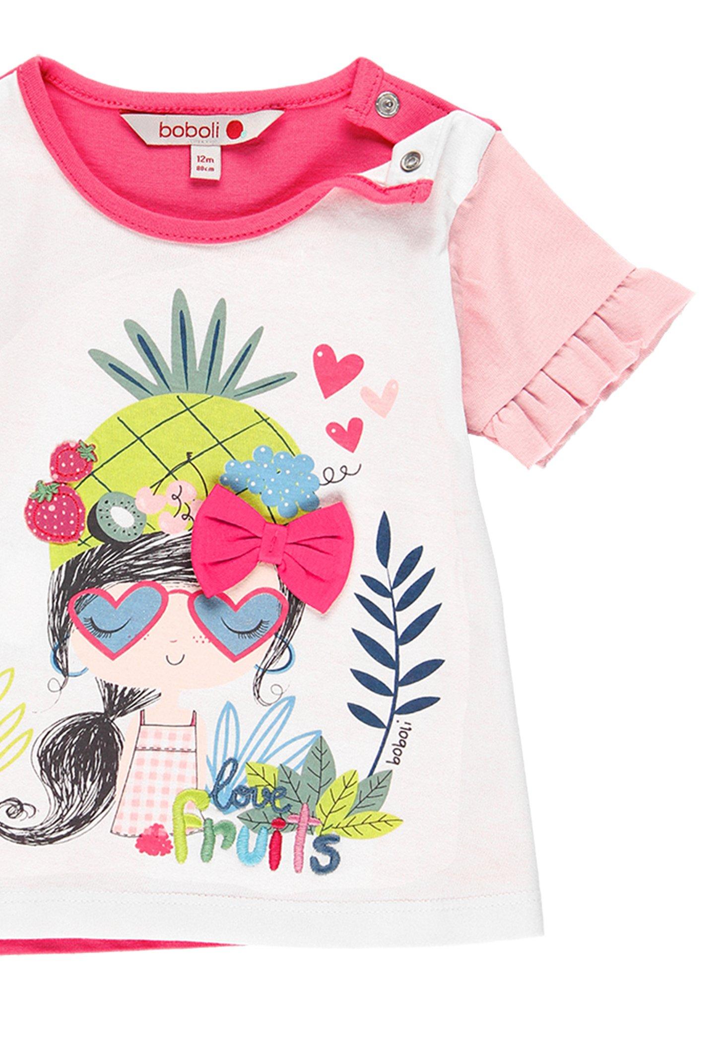 Große Förderung Boboli T-Shirt print - white | Damenbekleidung 2020