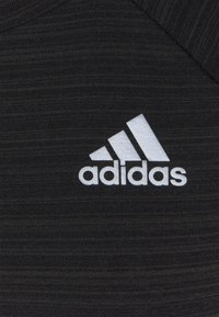 adidas Performance - ADI RUNNER - Sports shirt - black/reflective silver - 3