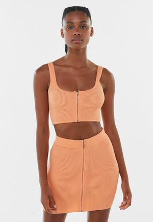 ROCK - Mini skirt - orange