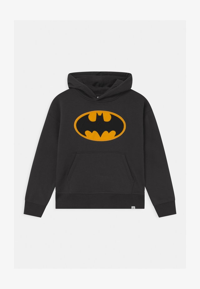 BOYS BATMAN HOOD - Hoodie - flint grey