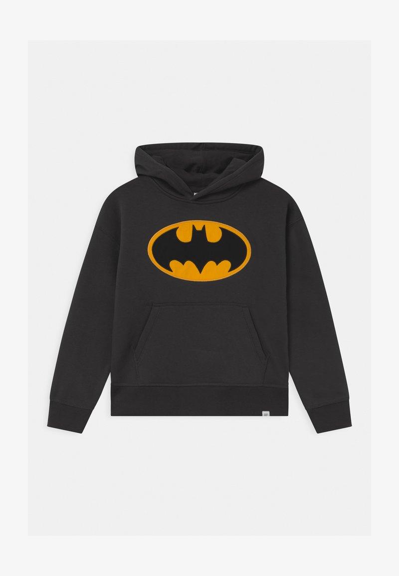 GAP - BOYS BATMAN HOOD - Hoodie - flint grey