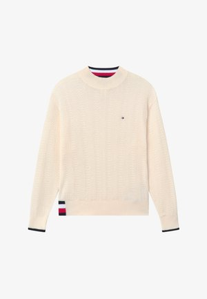 GLOBAL STRIPE  - Jumper - ivory petal