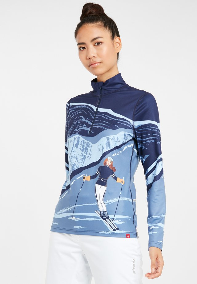 SKIROLLI ELEVATION - Sportshirt - indigo