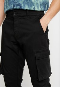 Only & Sons - ONSCAM STAGE CARGO CUFF - Cargobyxor - black - 3
