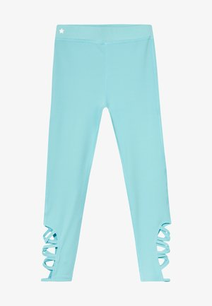 GIRLS CUT OUT  - Punčochy - light blue