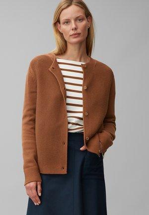 Cardigan - chestnut brown
