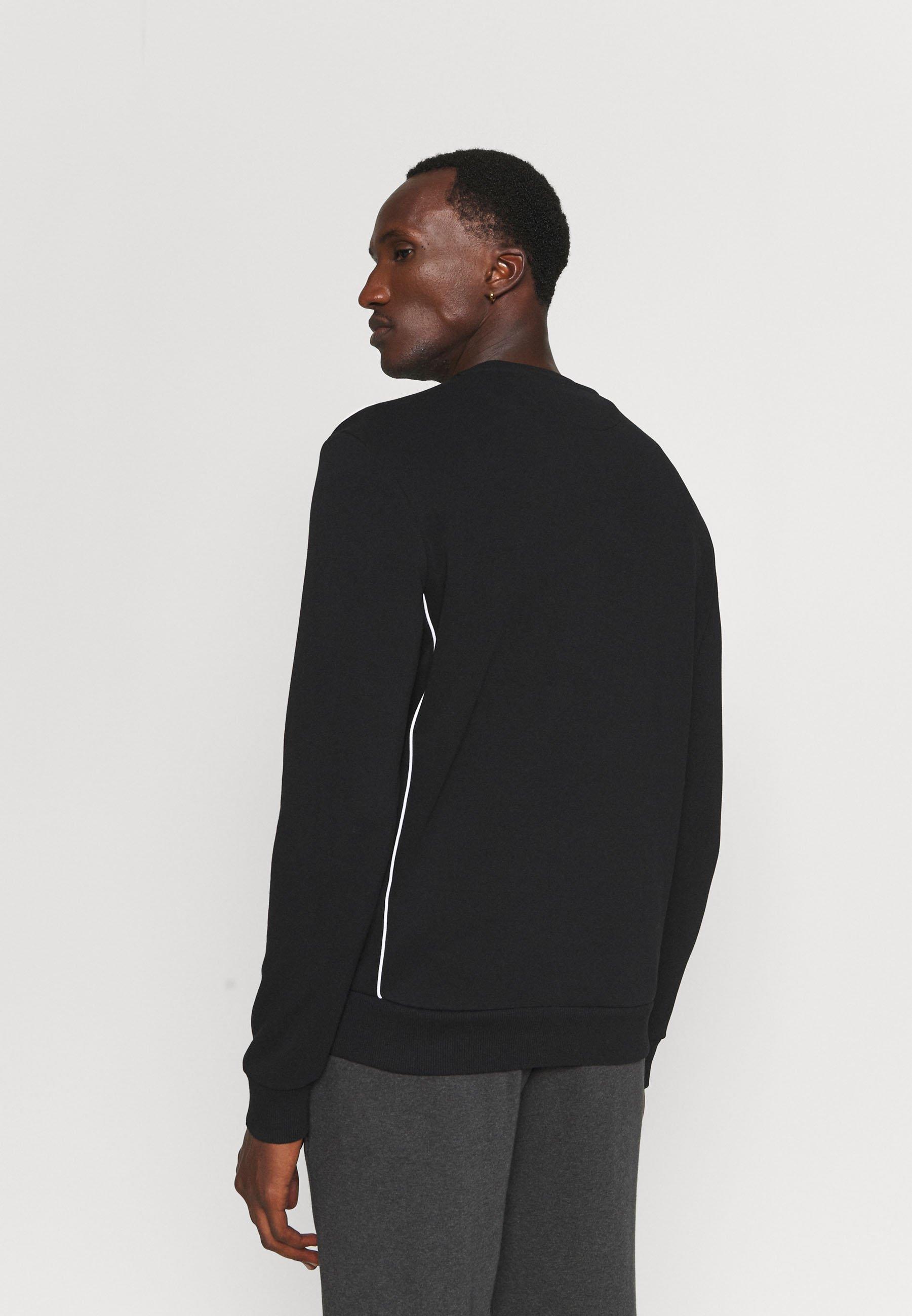 Men CREW NECK WITH CONTRAST PIPING - Sweatshirt