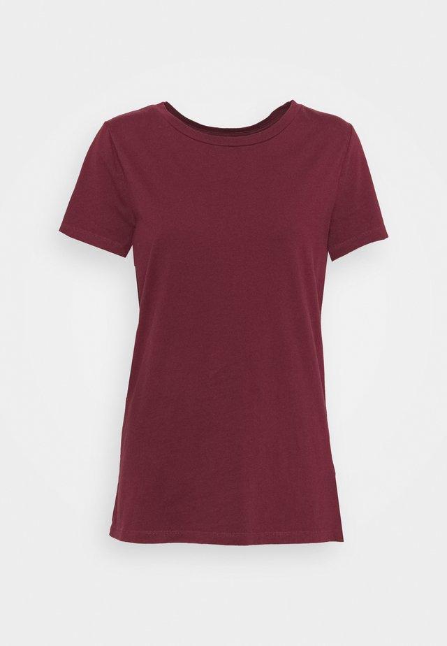 VINT CREW - Basic T-shirt - shiraz