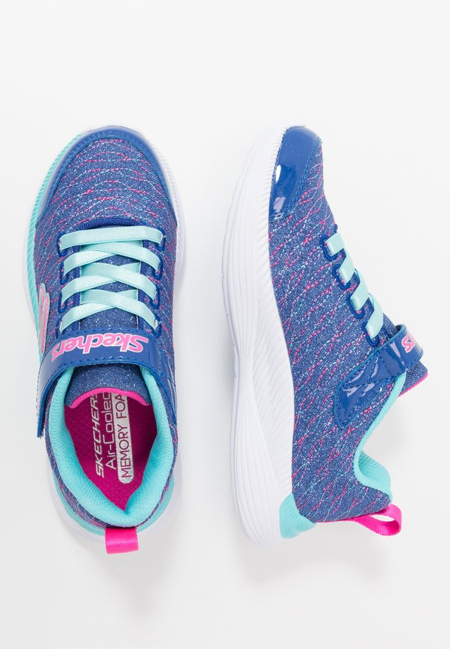MOVE 'N GROOVE - Sneakers laag - blue sparkle/turquoise/hot pink