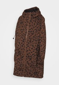 MAMALICIOUS - MLELLA JACKET - Zimní bunda - friar brown/black - 2