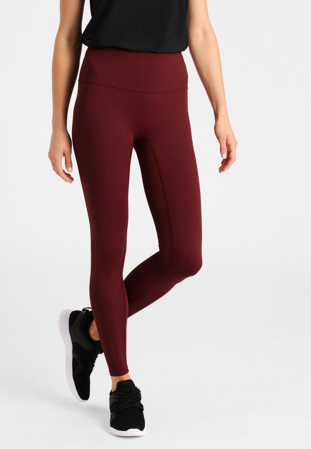 MAXIME  - Leggings - burgundy