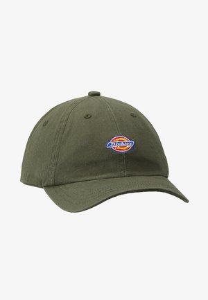 HARDWICK 6 PANEL LOGO CAP - Cappellino - army green