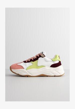 CELEST - Sneakersy niskie - wht.-chocol.multi