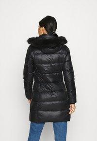 Calvin Klein - ESSENTIAL REAL COAT - Donsjas - black - 2