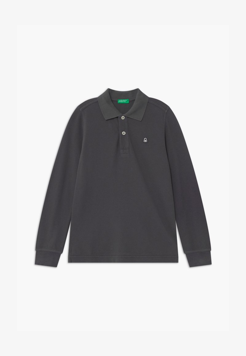 Benetton - BASIC BOY - Polo shirt - dark grey