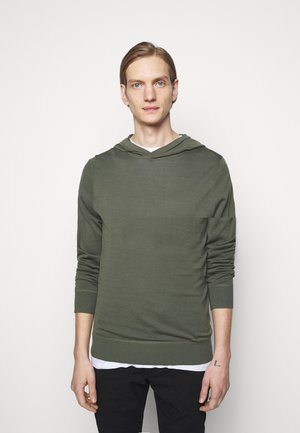 Jumper - mottled olive