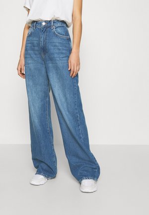 IDUN WIDE - Relaxed fit jeans - dark blue