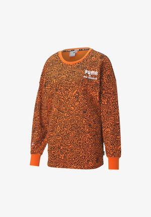 CREW - Sweatshirt - dragon fire-aop