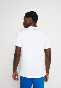 Lacoste - T-shirt print - blanc - 2