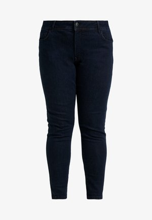 BASIC - Jeans Skinny Fit - dark blue denim