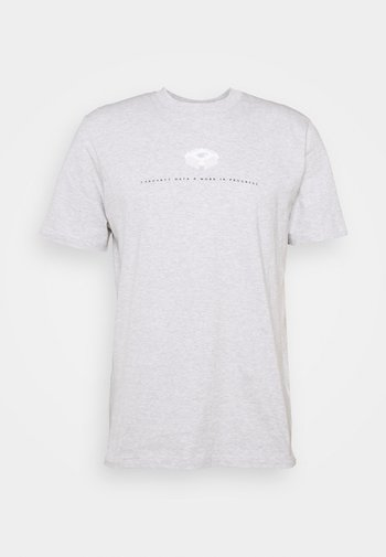 DATA - Print T-shirt - ash heather