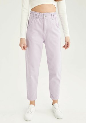 Relaxed fit jeans - purple