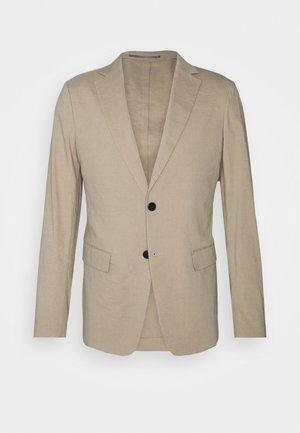 CLINTON - Blazer jacket - beige/stone