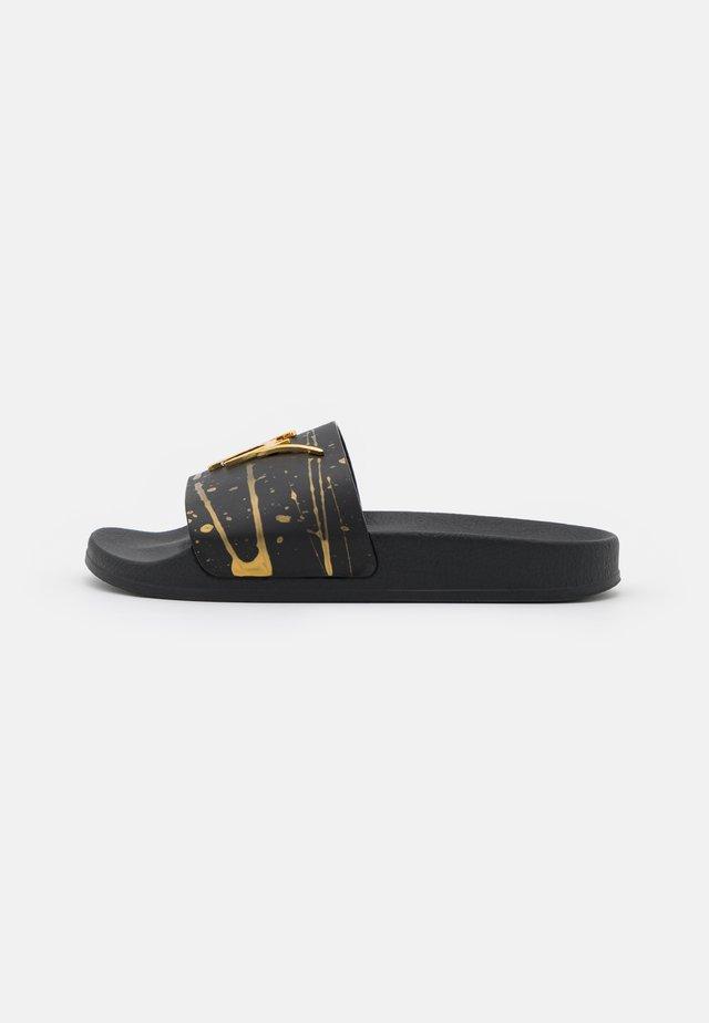 SLIDERS - Pantofle - sport nero