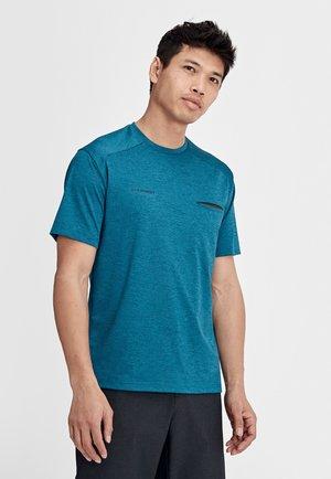 CRASHIANO - T-Shirt basic - sapphire melange