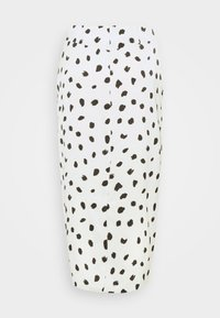 Who What Wear - BUTTON FRONT PENCIL SKIRT - Pencil skirt - cream - 6