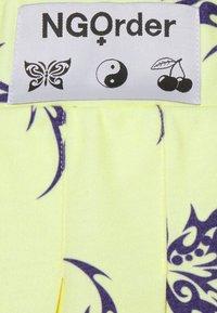 NEW girl ORDER - REPEAT TRIBAL BUTTERFLY  - Mini skirt - yellow - 2