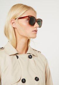 Gucci - Sunglasses - havana/green - 1