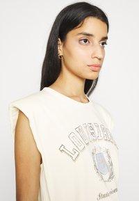 Gina Tricot - FRAN TANK - T-shirts med print - cloud - 3