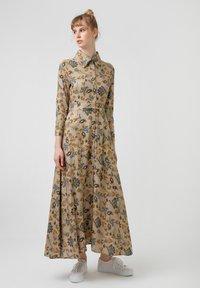 Touché Privé - FLOWER  - Maxi dress - brown - 3