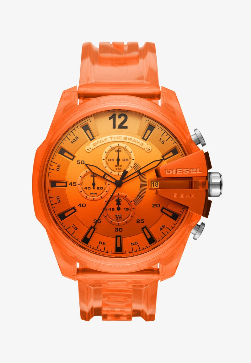 Diesel - MEGA CHIEF - Chronograph watch - orange
