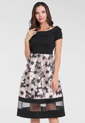 Cocktail dress / Party dress - puder-multicolor