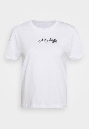SHORT SLEEVES - Camiseta estampada - bright white
