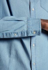 Brave Soul - Shirt - blue denim - 5