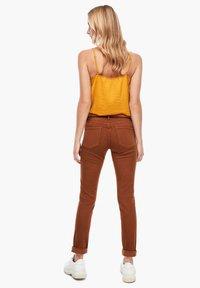 s.Oliver - Slim fit jeans - brown - 2
