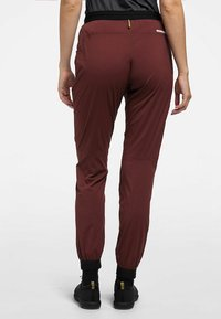 Haglöfs - L.I.M FUSE PANT WOMAN - Outdoor trousers - maroon red - 1